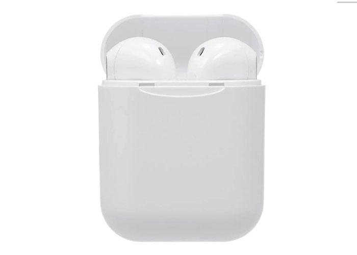 Hytech HY-XBK110 Mobil Telefon Uyumlu Bluetooth TWS AirPods Beyaz Mikrofonlu Kulaklık