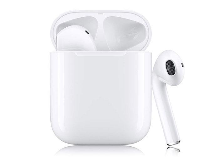 Hytech HY-XBK120 Mobil Telefon Uyumlu Bluetooth TWS AirPods Beyaz Mikrofonlu Kulaklık