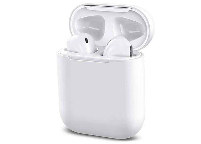 Hytech HY-XBK130 Mobil Telefon Uyumlu Bluetooth TWS AirPods Beyaz Mikrofonlu Kulaklık