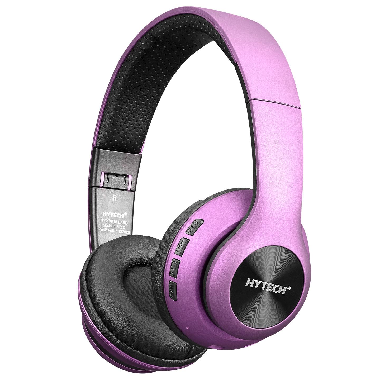 Hytech HY-XBK15 BARD Mor TF Kart Özellikli Bluetooth Kulaklık