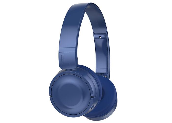 Hytech HY-XBK33 BATTY TF Kart Özellikli Mavi Bluetooth Kulaklık