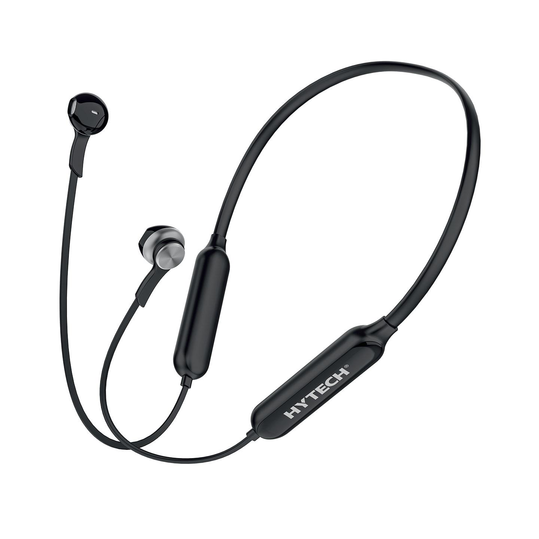 Hytech HY-XBK589 Siyah TF Kartlı Mıknatıslı Bluetooth Spor Kulak içi Kulaklık  Mikrofon