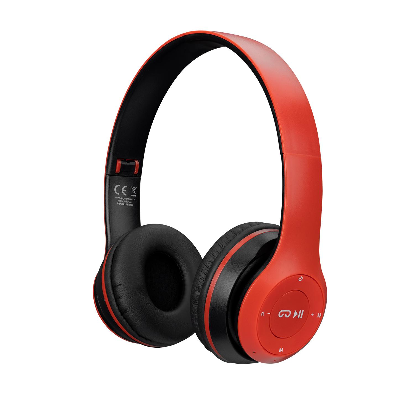 Hytech HY-XBK70 TF Kart Özellikli Kırmızı/Siyah Bluetooth Kulaklık