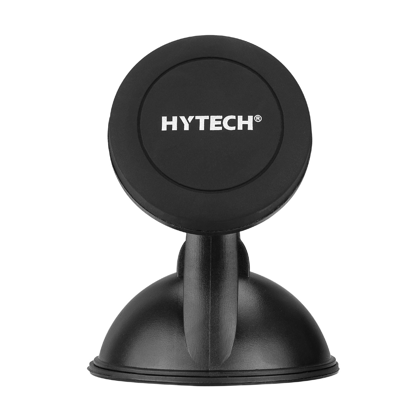 HYTECH HY-XH30 Easily Pluggable 360 Degree Black Magnetic Car Phone Holder