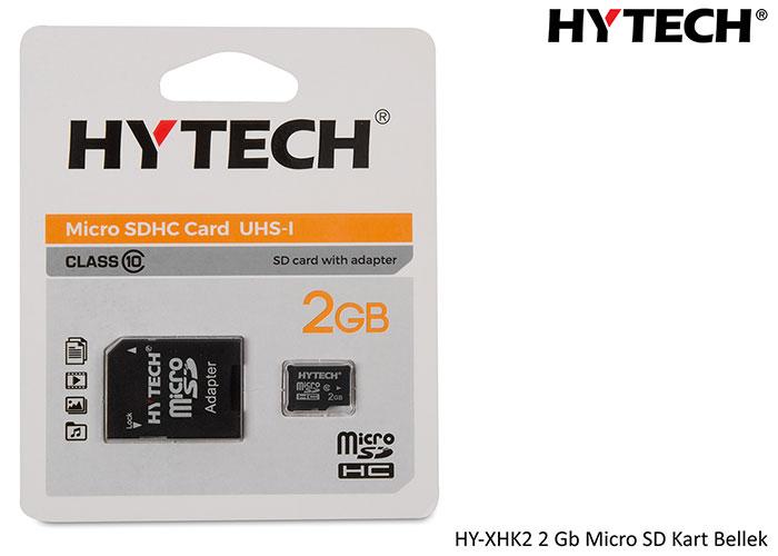 HYTECH HY-XHK2 2 Gb Micro SD Kart Bellek Adaptörlü