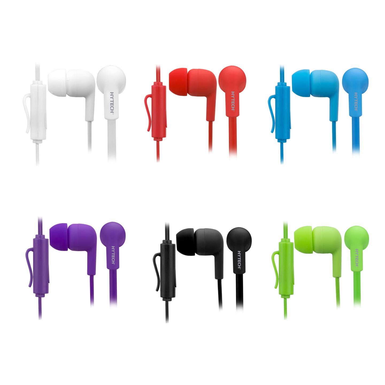 Hytech HY-XK22 6lı Set Karışık Renk Mikrofonlu Kulaklık