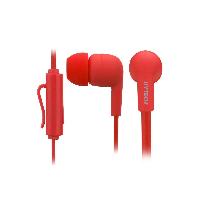 Hytech HY-XK22 Mobil Telefon Uyumlu Kulak içi Kırmızı Mikrofonlu Kulaklık