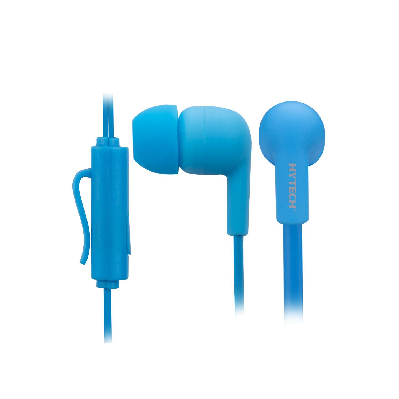 Hytech HY-XK22 Mobil Telefon Uyumlu Kulak içi Mavi Mikrofonlu Kulaklık
