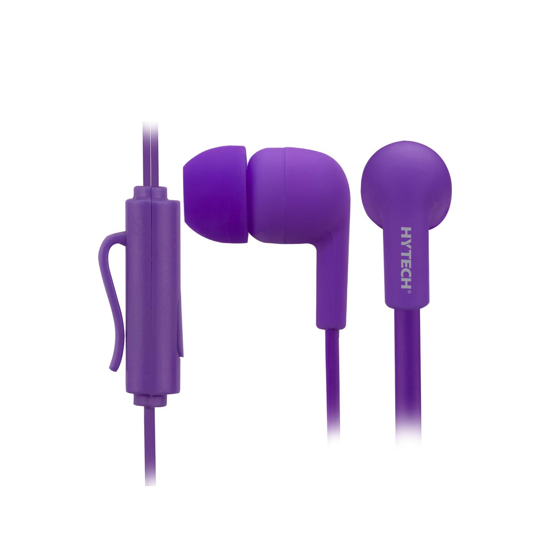 Hytech HY-XK22 Mobil Telefon Uyumlu Kulak içi Mor Mikrofonlu Kulaklık