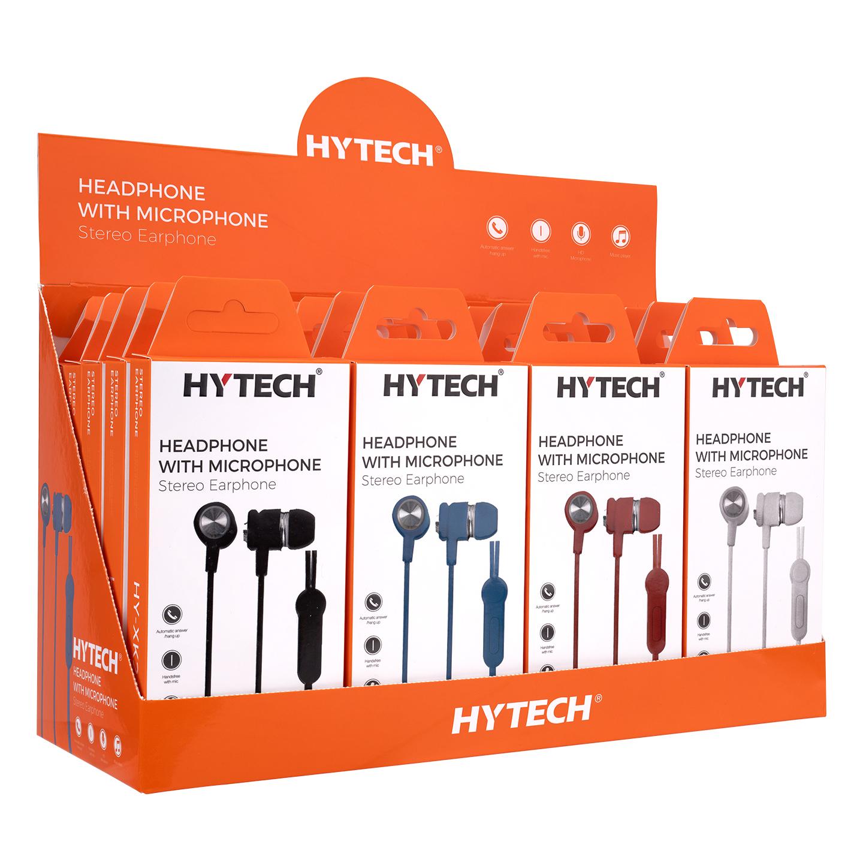 """Hytech HY-XK24 20""""li Set 8*Beyaz 6*Siyah 3*Mavi 3*Kırmızı Kulak İçi Mikrofonlu Kulaklık"""