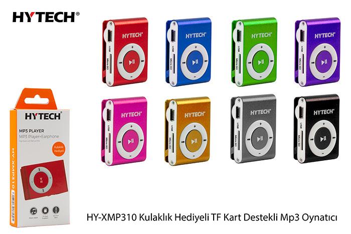 Hytech HY-XMP310 4*Siyah 4*Silver 2*Kırmızı 2*Mor 2*Mavi 2*Pembe 2*Gri 2*Turuncu TF kartlı MP3