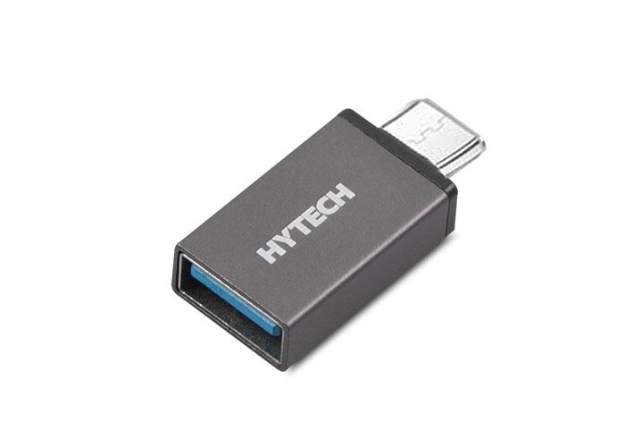Hytech HY-XO10 Gümüş USB F to MicroUSB M Metal Gövdeli OTG Çevirici