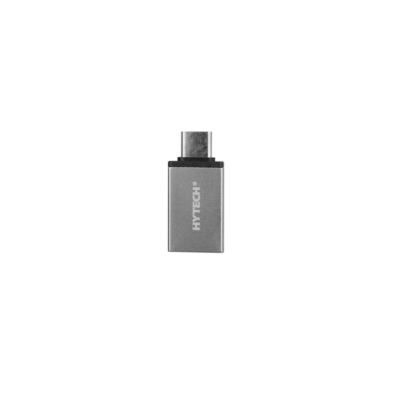 Hytech HY-XO20 Gümüş Metal Gövde USB F to Type C M OTG Çevirici