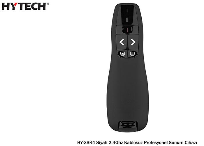 Hytech HY-XSK4 Siyah 2.4Ghz Kablosuz Profesyonel Sunum Cihazı
