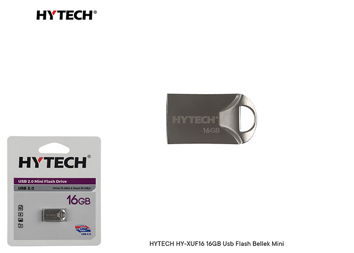 HYTECH HY-XUF16 16GB Usb Flash Bellek Mini