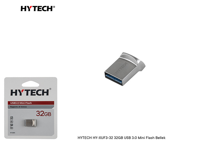 HYTECH HY-XUF3-32 32GB USB 3.0 Mini Flash Bellek