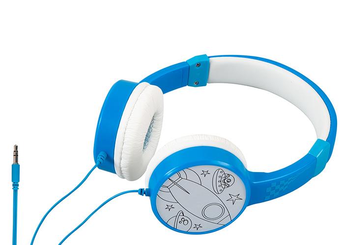 H-31115 3.5mm AUX Mavi Çocuk Kulaklığı