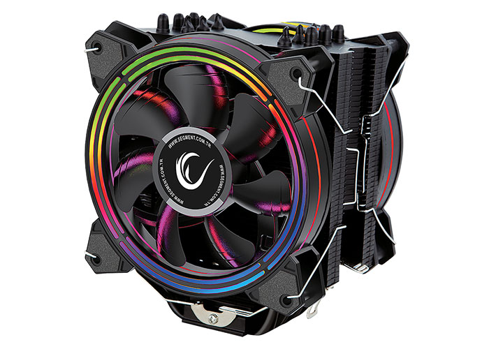 Rampage ICED120-RGB 120*120*25mm 800/2000rpm CPU Soğutucu