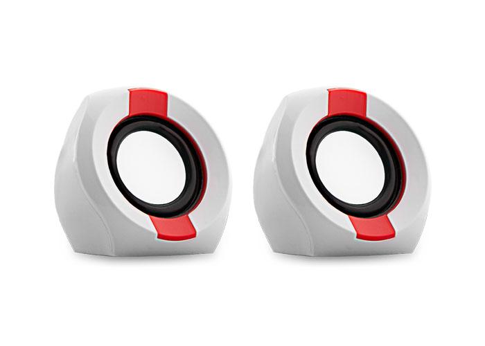Snopy ICON202 2.0 2W RMS Beyaz/Kırmızı Speaker