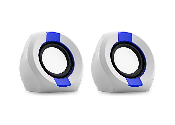 Snopy ICON202 2.0 2W RMS Beyaz/Mavi Speaker
