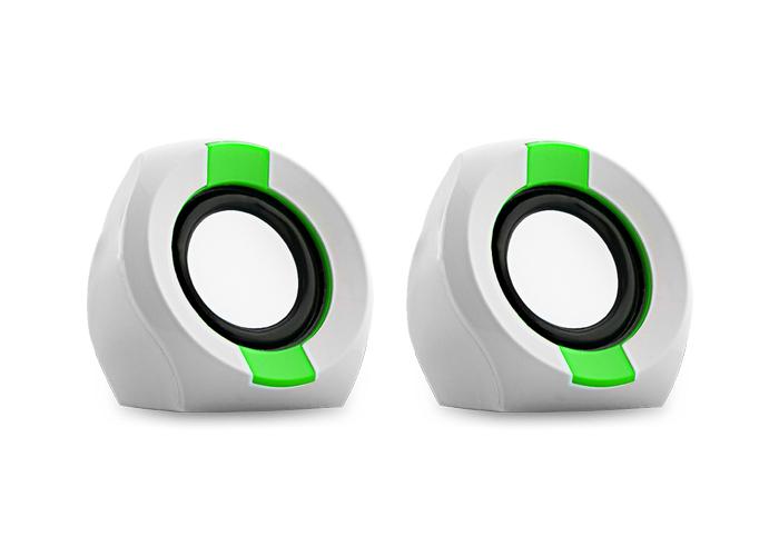 Snopy ICON202 2.0 2W RMS Beyaz/Yeşil Speaker