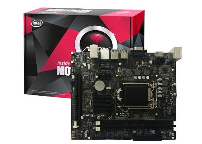 Afox IH110-MA Intel LGA1151 H110 DDR4 MicroATX Anakart