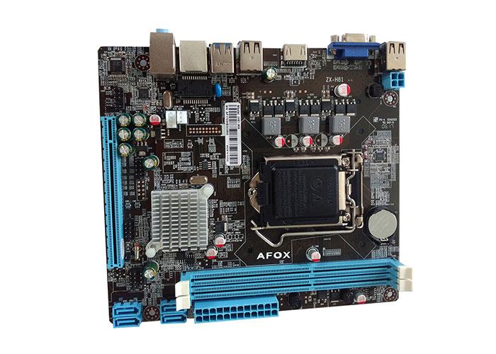 Afox IH81-MA Intel LGA 1150 H81 DDR3 MicroATX Anakart