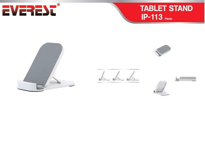 Everest IP-113 Silver Ipad 1  2 Tablet Pc Stand