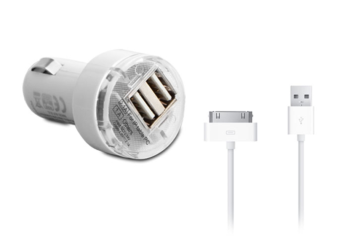 S-link IP-816 2000MA 12V + Usb Kablo Araç Şarjı
