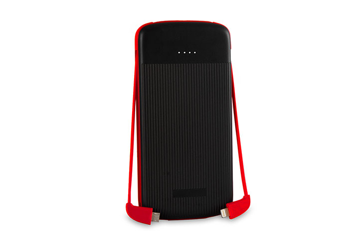 S-link IP-1012 10000mAh Powerbank Black/Red Portable Battery Charger