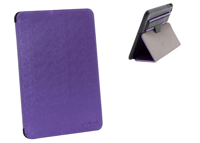 Addison IP-1072 iPad Mini /Mini2 Mor Standlı Koruyucu Kılıf