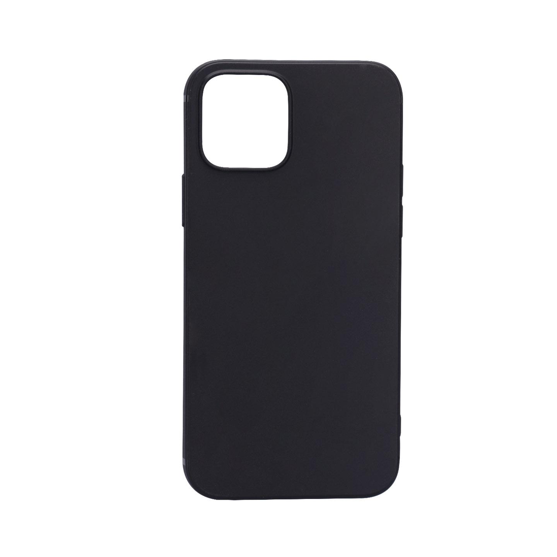 Addison IP-12MiniS Siyah Soft iPhone 12 Mini Telefon Kılıfı