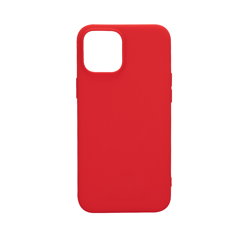 Addison IP-12PMAXS Kırmızı Soft iPhone 12 Pro Max Telefon Kılıfı