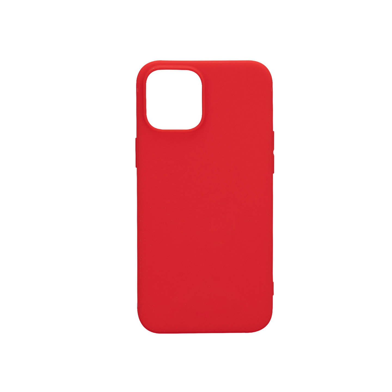 Addison IP-12PS Kırmızı Soft iPhone 12 / 12 Pro Telefon Kılıfı