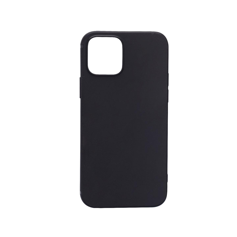 Addison IP-12PS Siyah Soft iPhone 12 / 12 Pro Telefon Kılıfı