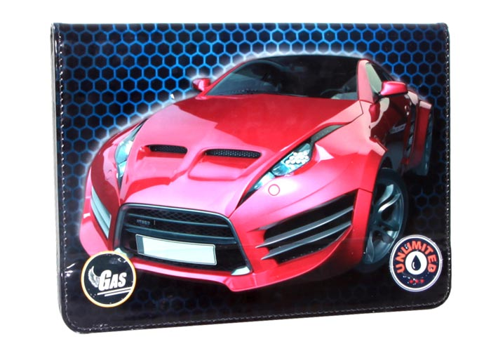 Addison IP-172 10 Red Speed Car Baskılı Tablet Pc Kılıfı