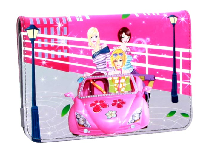 Addison IP-173 7 Crazy Girls Baskılı Tablet Pc Kılıfı