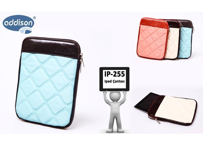 Addison IP-255 Açık Mavi Ipad Çantası