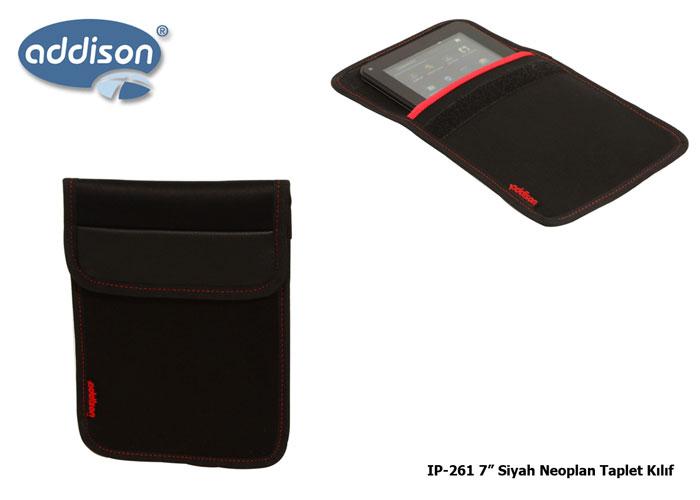 Addison IP-261 Siyah 7 Koruma Kılıfı Neoplen