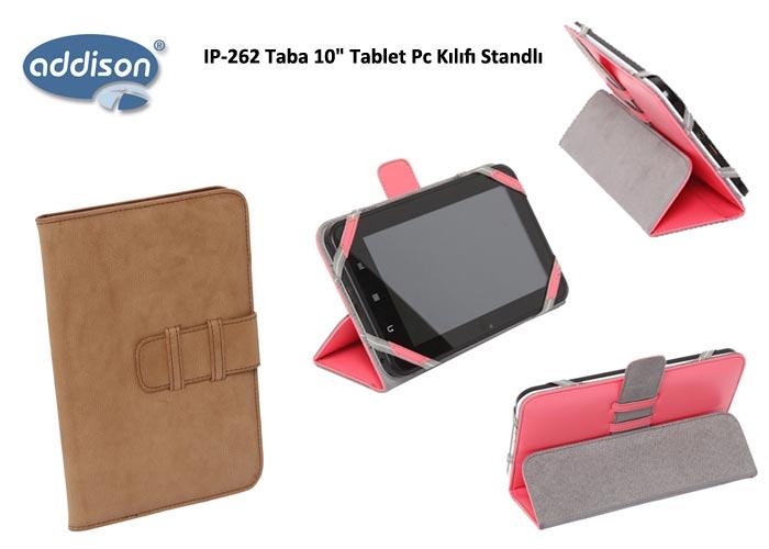 Addison IP-262 Taba 10 Tablet Pc Kılıfı Standlı