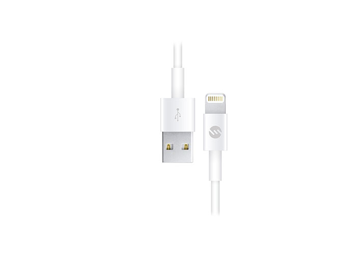 S-link IP-298 2A Beyaz iPhone5/6/iPad Lightning Kablosu