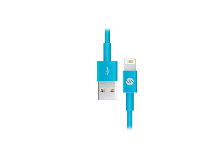 S-link IP-298 2A Mavi iPhone5/6/iPad Lightning Kablosu