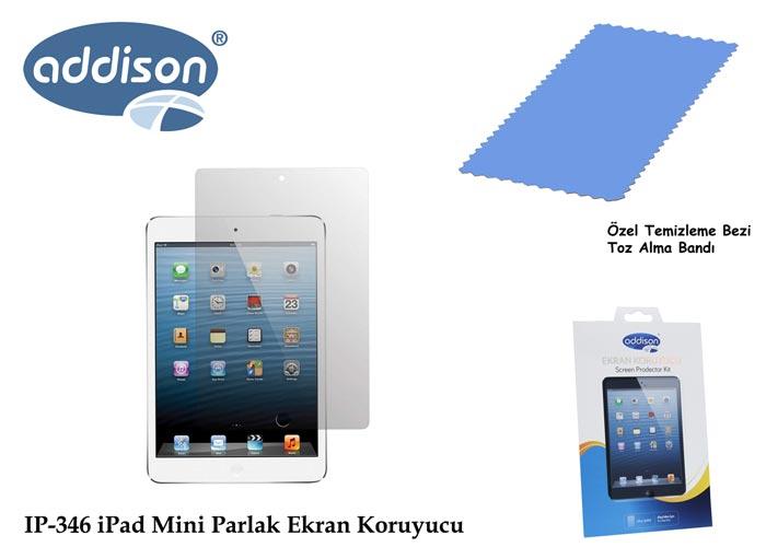 Addison IP-346 iPad Mini Ultra Şeffaf Ekran Koruyucu