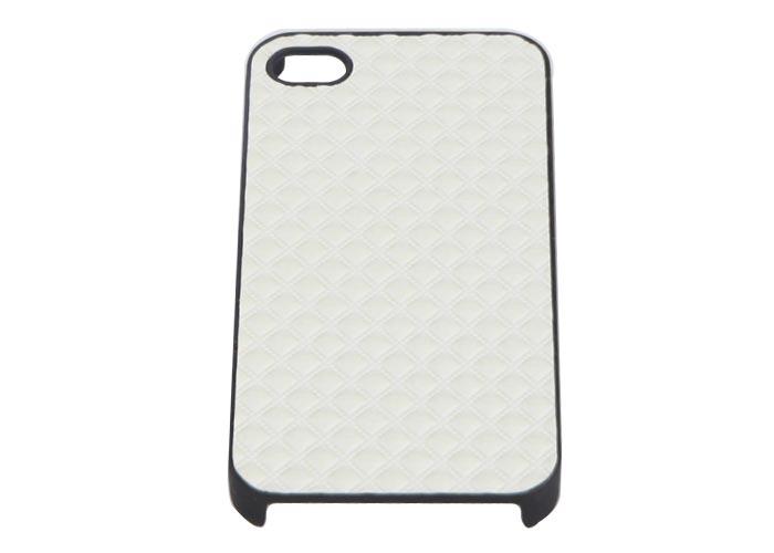 Addison IP-402 Beyaz + Şeffaf Ekran Koruyucu Iphone 4, 4S Kılıfı