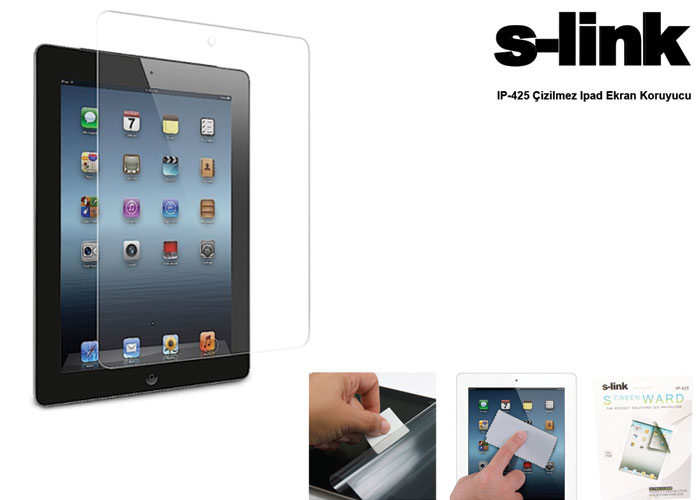 S-link IP-425 Ipad 2/3 Compatible Screen Protector