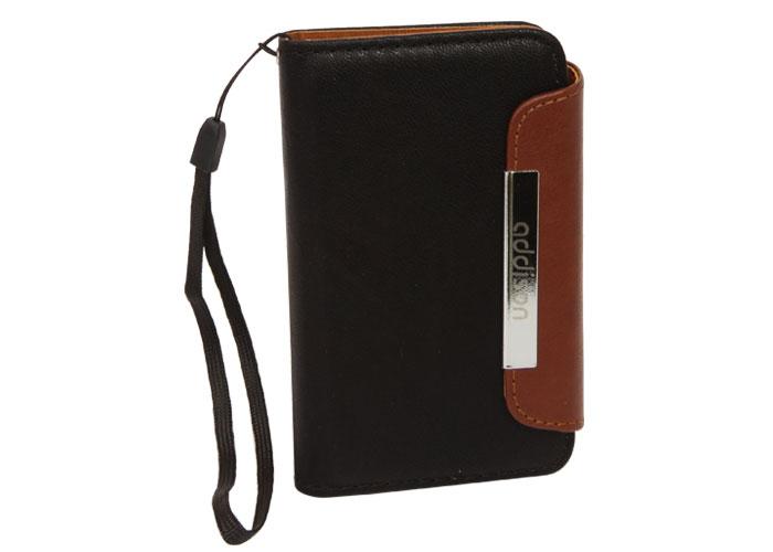 Addison IP-442 Siyah/Kahverengi Iphone 4S Deri Kılıf