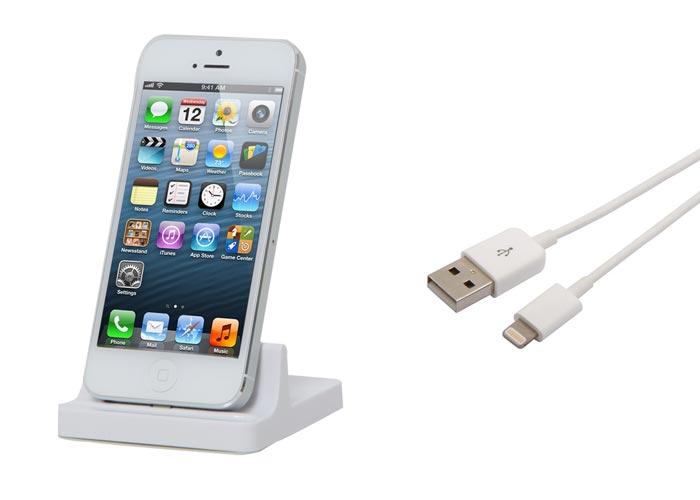 S-link IP-528 iPhone 5 Stand + Data + Şarj Kablo