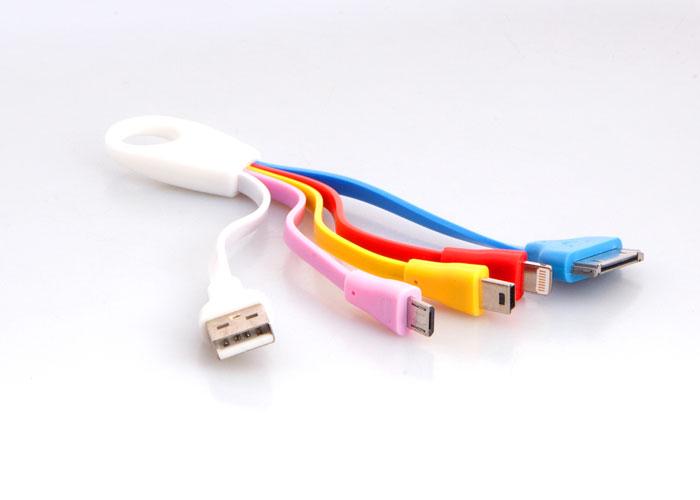 S-link IP-535 iPhone Lightning+Micro +Mini Usb 4 in 1 Universal Şarj Kablosu