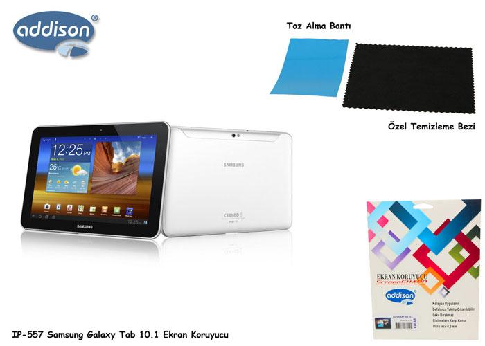 Addison IP-557 Ekran Koruyucu Samsung Galaxy Tab 10.1