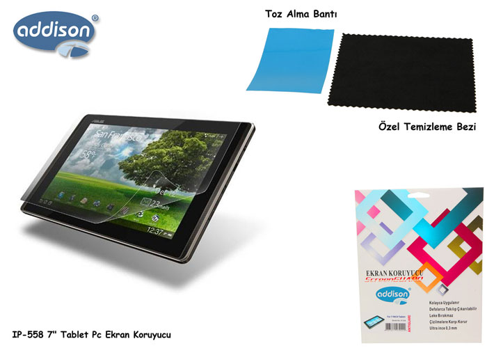 Addison IP-558 Tablet Pc 7 Ekran Koruyucu